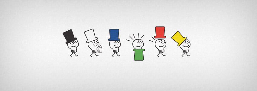 Метод шести шляп мышления.